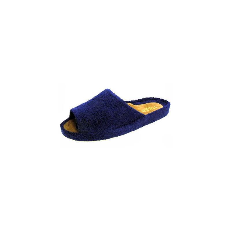 ciabatta-da-uomo-in-spugna-blu  Tentazione calzature