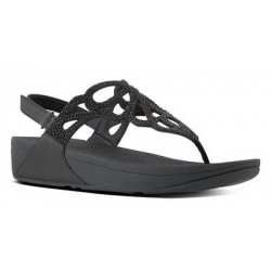 SANDALO FITFLOP™ - BUMBLE™CRYSTAL BLACK