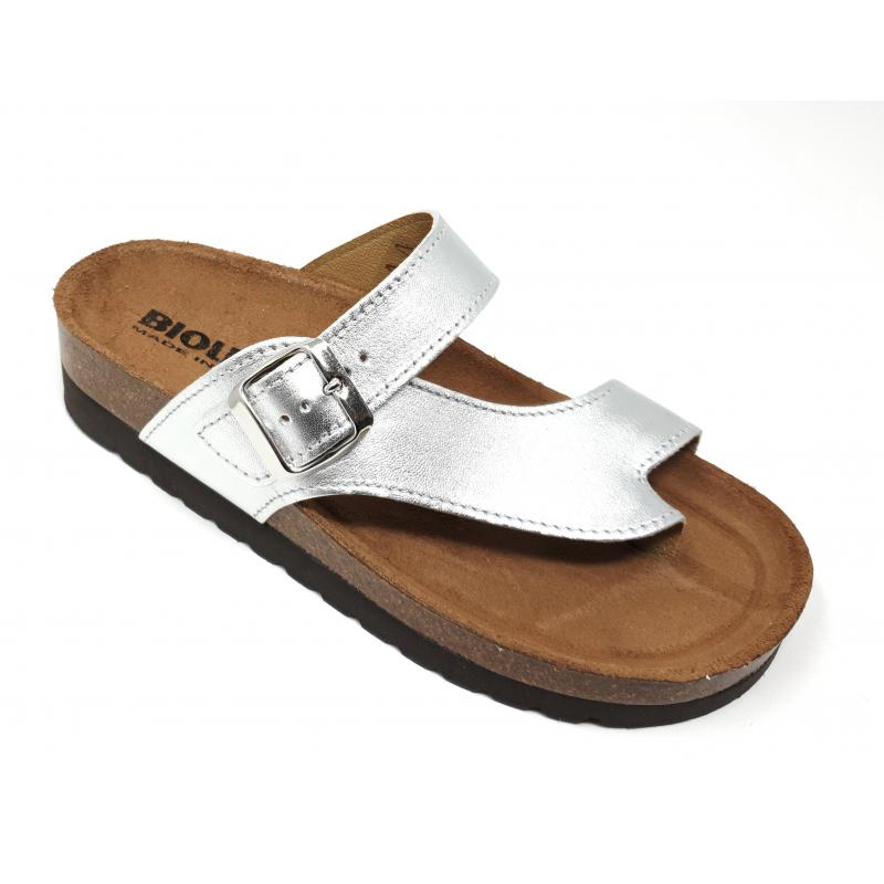 disponibilità nel Regno Unito migliori scarpe da ginnastica arte squisita INFRADITO BIOLINE - 3980 ARGENTO PLUS