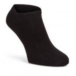 CALZE ECCO - Bamboo No-Show Sock 2 Pairs Pack Black